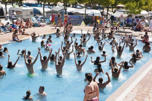 Actividades Piscina Paisaxe Summer Camp